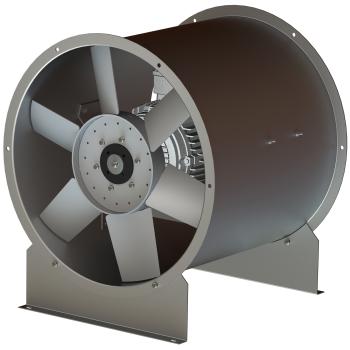 Nouveau: AXUS 400°C-2hVentilateur axial diamètre 800mm, vitesse 3000tr/min, Certifié EN12101-3 F400